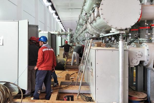 新铝220kV变电站主变试验