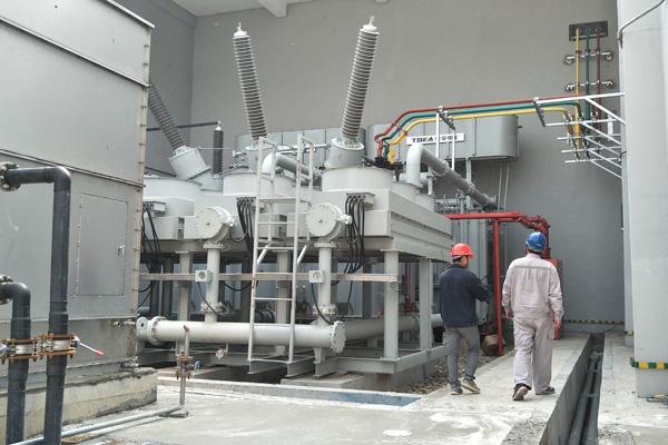 百矿集团旧州220kV变电站特种变压器检测项目