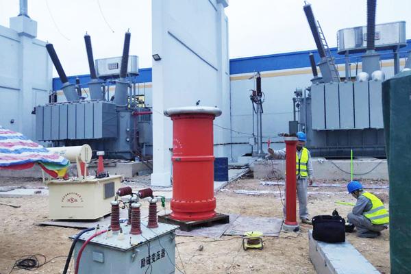 广西华昇220kV变电站试验项目