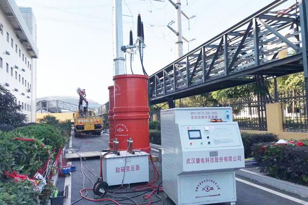 220kV高压电力电缆试验
